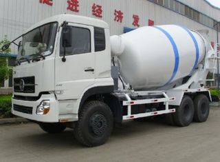 China Dongfeng Concrete Mixing Transport Trucks 10m³ LHD RHD Cement Mixer Truck supplier