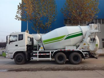 China 6x4 Heavy Duty Concrete Mixer Truck 8 - 12m3 Capacity With Cummins Engine supplier
