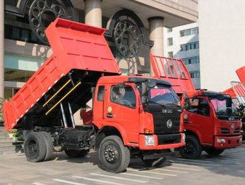 China 6 Wheels 4x4 Mini Dump Truck With Right Hand Drive / Left Hand Drive supplier