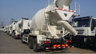 China 8 Cbm Concrete Mixer Truck 340 Hp 6×4 Drive Mode For Transport Concrete supplier