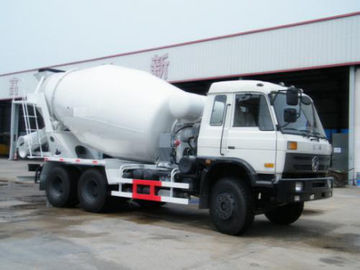 China Dongfeng Concrete Mixing Transport Trucks , 6x4 10 Wheel 9 Cube Cement Mixer Truck supplier