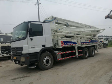 China Second Hand Concrete Mixer Trucks / Concrete Pump Truck 37m  38m 47m 48m supplier