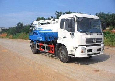 China Easy Operation Sewage Tanker Truck 10000L Large Capacity With Good Performance supplier