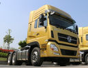 China Yellow 10 Wheels Prime Mover Truck 6x4 Drive Mode LHD RHD 375HP CCC Certified factory