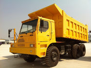 Professional 6x4 Heavy Duty Dump Truck , 50 Ton Dump Truck 336Hp For Mining