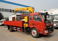 China DFA1063DJ10 Mobile Crane Truck With Cummins 140 hp Matching XCMG Crane factory
