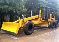 China Self Propelled Articulated Motor Grader 215 Hp With Front Blade / Rear Scarifier factory