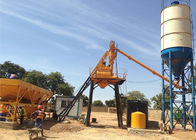 China Stationary Concrete Batching Plant With Cement Silos 15 - 200 M3 Per Hour factory