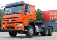 China HOWO Prime Mover Truck / Tractor Head Truck 371HP 336HP With Left Hand Drive factory