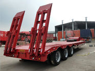 China 3 Axles FUWA Heavy Duty Semi Trailers 13000mm Length Cement Carrier Truck factory