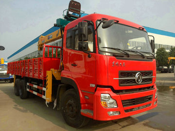 Dongfeng 6x4 LHD, RHD Truck Mounted Crane with Capacity 13ton for Sale