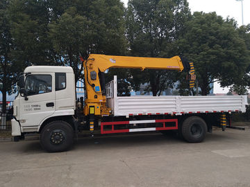 4x2 Truck mounted with crane