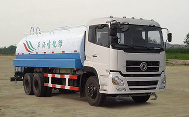 Dongfeng Special Purpose Trucks 20000 Liter Water Tanker Truck With Carbon Steel Tank