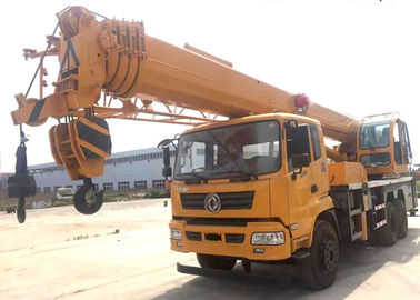 Durable Heavy Construction Machinery 25T Truck Mounted Jib Crane With Telescopic Boom