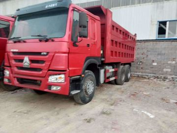 HOWO Used Dump Trucks 375 Hp 6X4 Model For Mining Transport ISO Approved