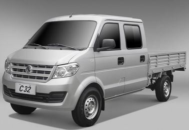 C32 Double Cabin Mini Cargo Truck 2 Seat With Capacity 800 KG 1200cc Engine