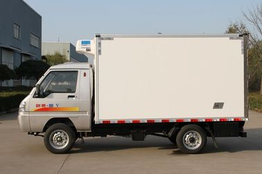 2 Ton Freezer Refrigerated Truck Trailer Three Cab 70KW Max Power